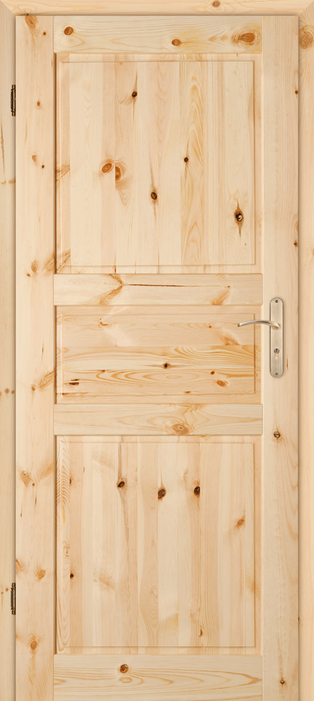 Dřevěné dveře Harnaš 3/P