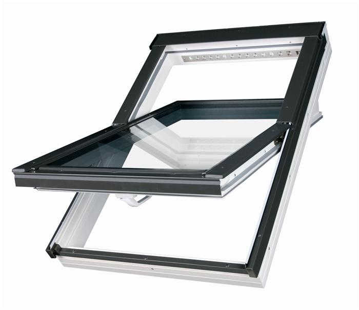 SKYLIGHT Plastové střešní okno SKYLIGHT Premium 78x118 kyvné
