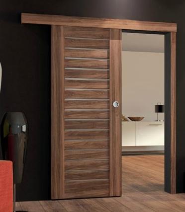 Dre dveře Posuvný systém pro DRE dveře , Pozice posuv doprava (madlo na levé straně)